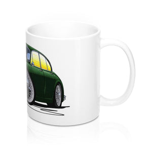 Jaguar Mk2 - Caricature Car Art Coffee Mug