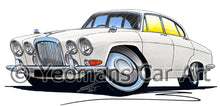 Load image into Gallery viewer, Jaguar MkX - Caricature Car Art Print