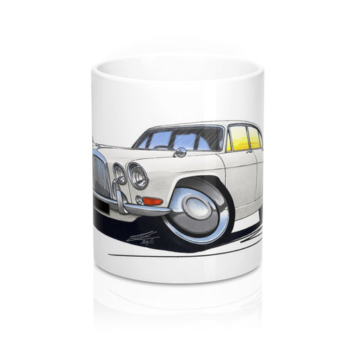 Jaguar MkX - Caricature Car Art Coffee Mug