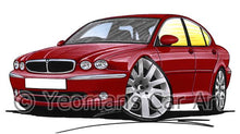 Load image into Gallery viewer, Jaguar X-Type - Caricature Car Art Coffee Mug