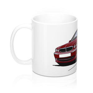 Jaguar X-Type - Caricature Car Art Coffee Mug