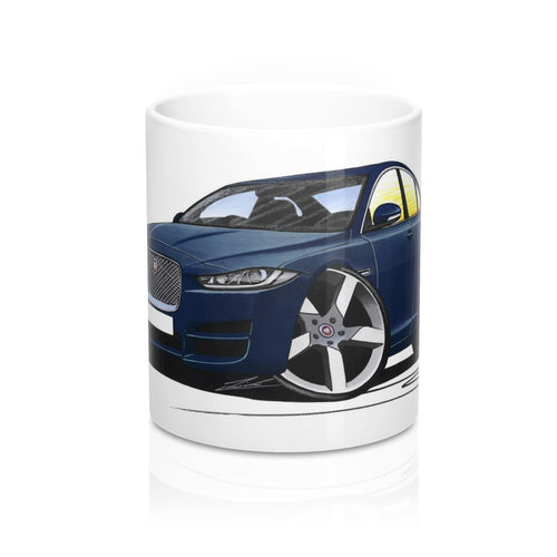 Jaguar XE - Caricature Car Art Coffee Mug