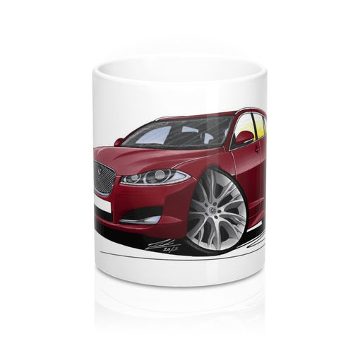 Jaguar XF Sportbrake - Caricature Car Art Coffee Mug