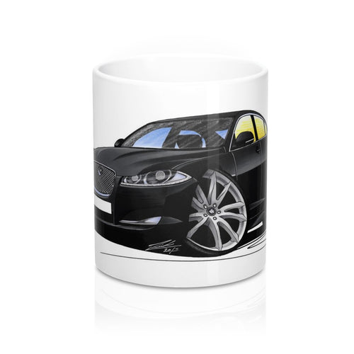 Jaguar XF (Facelift) - Caricature Car Art Coffee Mug