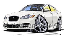Load image into Gallery viewer, Jaguar XF - Caricature Car Art Coffee Mug