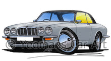 Load image into Gallery viewer, Jaguar XJ-C - Caricature Car Art Print