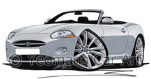 Load image into Gallery viewer, Jaguar XK Convertible - Caricature Car Art Coffee Mug