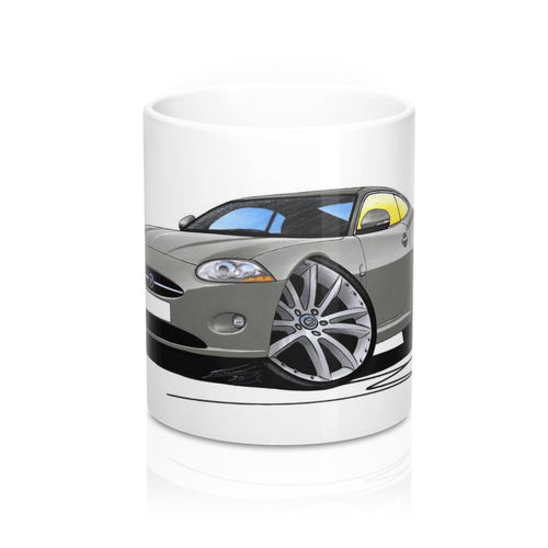 Jaguar XK - Caricature Car Art Coffee Mug