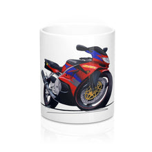 Load image into Gallery viewer, Kawasaki ZX6R - Caricature Bike Art Coffee Mug