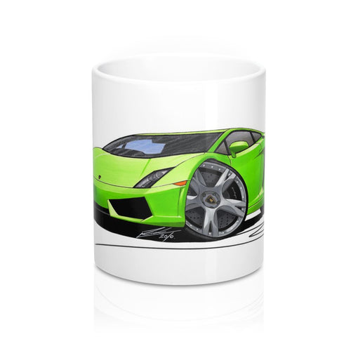 Lamborghini Gallardo LP560/4 - Caricature Car Art Coffee Mug