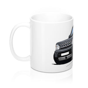 Land Rover Discovery 4 - Caricature Car Art Coffee Mug