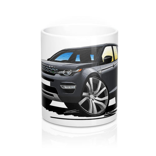 Land Rover Discovery Sport - Caricature Car Art Coffee Mug