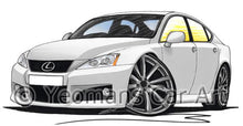 Load image into Gallery viewer, Lexus IS-F (XE20) - Caricature Car Art Coffee Mug