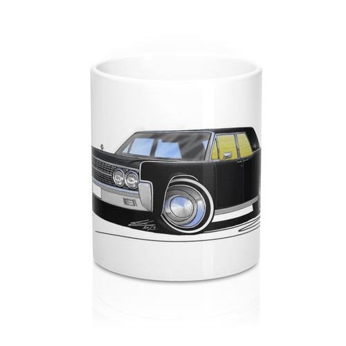 Lincoln Continental (1963) - Caricature Car Art Coffee Mug