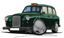 Load image into Gallery viewer, London Fairway Taxi - Caricature Car Art Coffee Mug