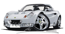Load image into Gallery viewer, Lotus Elise S1 - Caricature Car Art Coffee Mug
