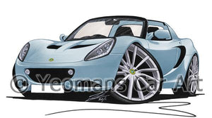Lotus Elise S2 (Facelift) - Caricature Car Art Coffee Mug