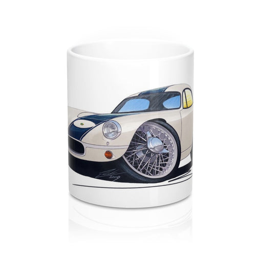 Lotus Elite (Racer) - Caricature Car Art Coffee Mug