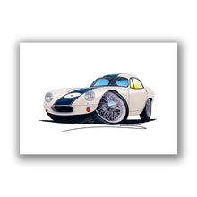 Load image into Gallery viewer, Lotus Elite (Racer) - Caricature Car Art Print