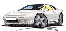 Load image into Gallery viewer, Lotus Esprit S4 - Caricature Car Art Coffee Mug