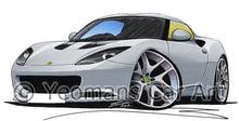 Load image into Gallery viewer, Lotus Evora - Caricature Car Art Coffee Mug