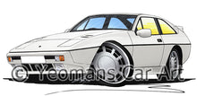 Load image into Gallery viewer, Lotus Excel SE - Caricature Car Art Print