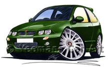 Load image into Gallery viewer, MG ZR - Caricature Car Art Coffee Mug