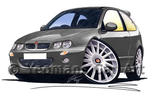 MG ZR - Caricature Car Art Coffee Mug
