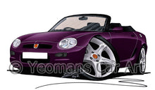 Load image into Gallery viewer, MG F - Caricature Car Art Print