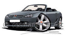 Load image into Gallery viewer, MG TF - Caricature Car Art Print