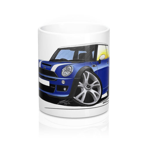 MINI (Mk1)(R53) Cooper S Works - Caricature Car Art Coffee Mug