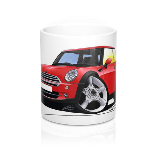 MINI (Mk1)(R50) Cooper - Caricature Car Art Coffee Mug