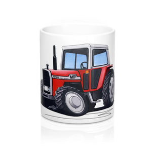 Massey Ferguson 590 Tractor - Caricature Car Art Coffee Mug
