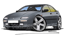 Load image into Gallery viewer, Mazda 323F - Caricature Car Art Print