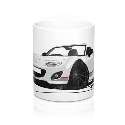 Mazda MX5 (Mk3) (Facelift) Kuro Edition - Caricature Car Art Coffee Mug