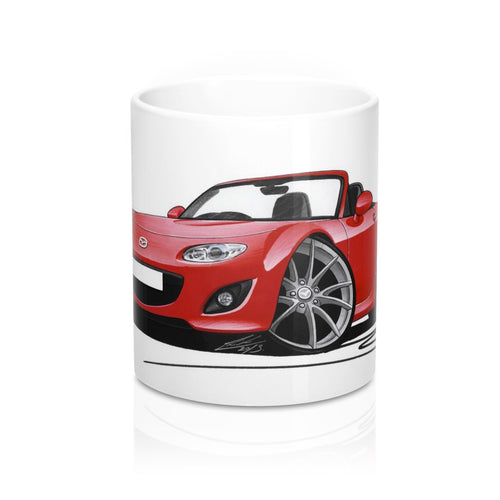 Mazda MX5 (Mk3)(Facelift) - Caricature Car Art Coffee Mug