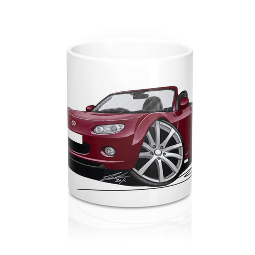 Mazda MX5 (Mk3) - Caricature Car Art Coffee Mug