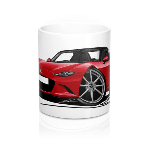 Mazda MX5 (Mk4) RF - Caricature Car Art Coffee Mug