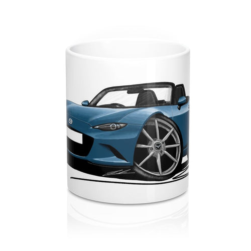 Mazda MX5 (Mk4) - Caricature Car Art Coffee Mug