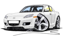 Load image into Gallery viewer, Mazda RX8 - Caricature Car Art Coffee Mug