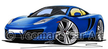 Load image into Gallery viewer, McLaren MP4-12c - Caricature Car Art Print
