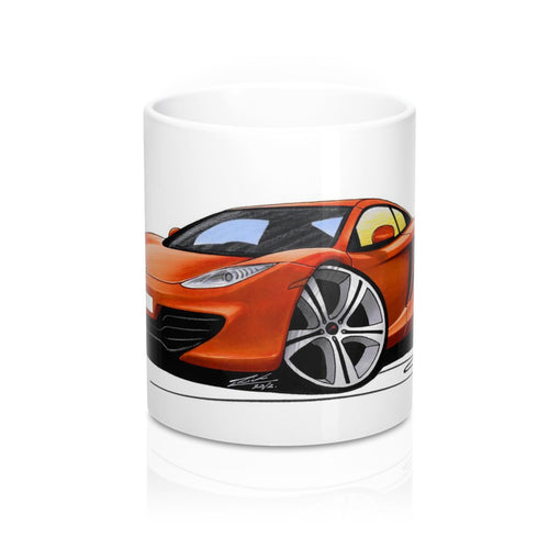 McLaren MP4-12c - Caricature Car Art Coffee Mug
