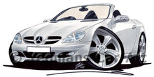 Load image into Gallery viewer, Mercedes SLK 350 - Caricature Car Art Coffee Mug