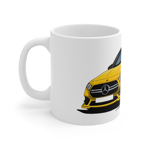 Mercedes A-Class A35 AMG - Caricature Car Art Coffee Mug