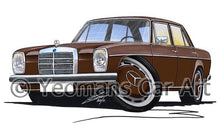 Load image into Gallery viewer, Mercedes 220 (W115) - Caricature Car Art Coffee Mug
