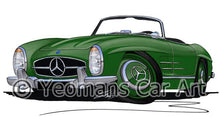 Load image into Gallery viewer, Mercedes 300SL Convertible - Caricature Car Art Coffee Mug