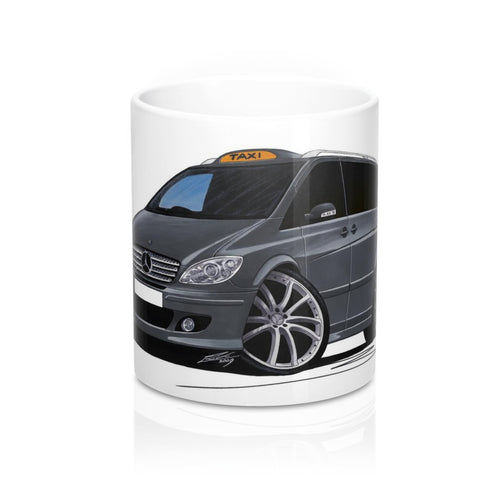 Mercedes Viano Taxi - Caricature Car Art Coffee Mug