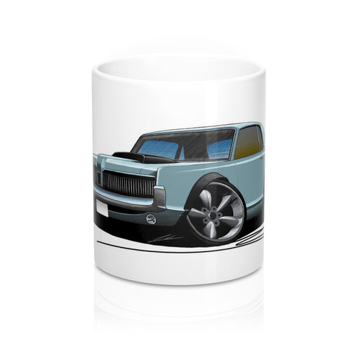 Mercury Cougar (1968) - Caricature Car Art Coffee Mug