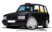 Load image into Gallery viewer, Metrocab - Caricature Car Art Print