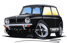 Load image into Gallery viewer, Mini 1275GT - Caricature Car Art Print